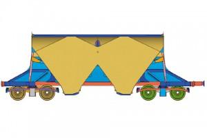 Wagon trémie